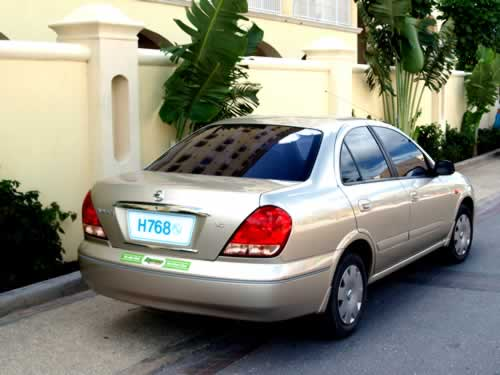 Barbados Mid-sized Car Hire and Mid-sized Car Rental