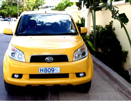 Barbados Jeep / SUV Hire and Jeep /SUV Rental